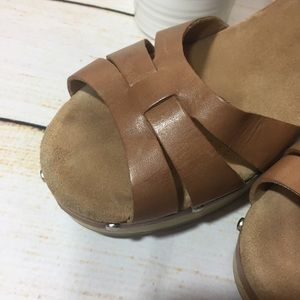 98cff5356011b8 Clarks Shoes - Clark s Artisan Leather Ledella Trail Sandal